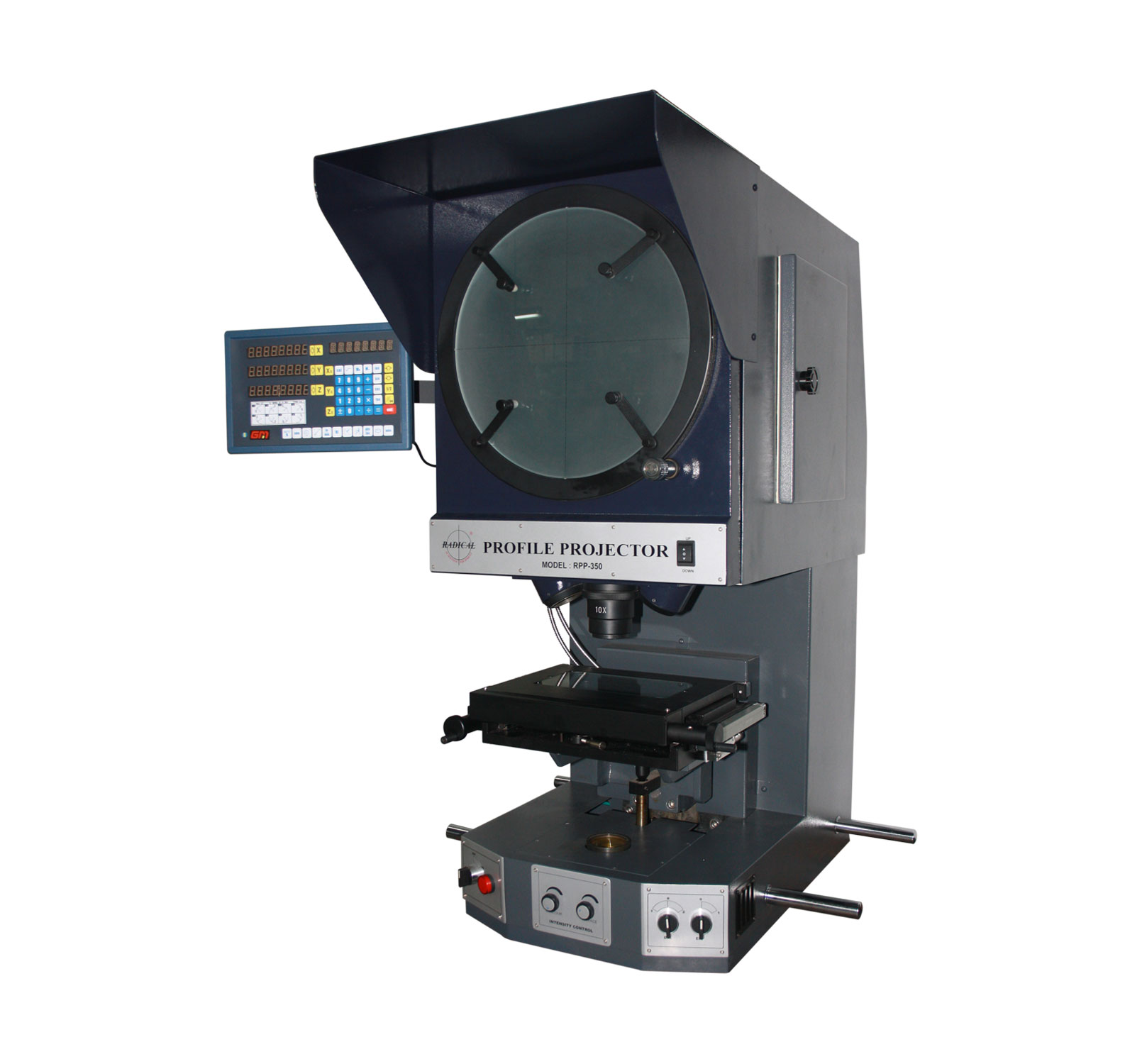 Bench/Tabletop Profile Projector - Vertical Profile Projectors Profile  Projectors, Metrology & Metallurgy