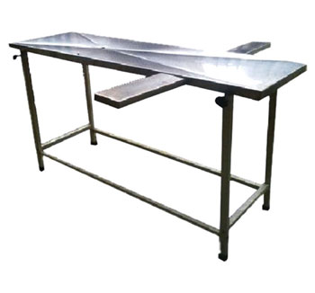 Postmortem Autopsy Table RSPA-3